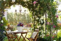Outdoor ideas / Backyards, terraces, porches, patios, balconies and outdoor living...