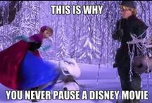 Never Pause A Disney Movie . . .  EVER!!!
