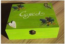 Boxes, things from wood / Čajovky, drevené krabičky, rámiky...
