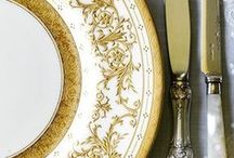 Dinnerwares,Tablescapes and Centerpieces