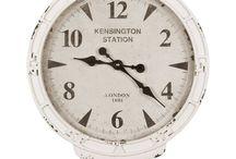 Orologi SHABBY e country chic / In questa bacheca potete trovare la nostra selezione di orologi in stile country e shabby chic. Per questo e molto altro visitate il nostro sito www.labellesaison.it