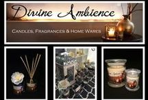 Divine Ambience / Natural Soy Candles, Fragrances & Home Wares