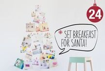 ❄ Xmas Advent Calendar ❄ / It's Christmas time again! Open a door every day, December 1–24, to reveal delicious holiday treats we need to get into the holiday spirit this festive season!  www.formabilio.com