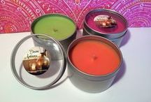 Travel Tin Candles / Take your candles with you when on holiday with these great travel tins.