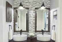 His & Hers Bathroom Designs / Modern bathroom design inspiration for both him and her.