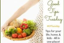 Good Tips Tuesday #GTTuesday / Posts from the weekly Good Tips Tuesday linky party hosted by sherrylwilson.com | abirdandabean.com | happybrownhouse.com | something2offer.com | 4theloveoffamily.com  Parenting, homemaking, recipes, cooking tips, kids activities, kids crafts / by SimplySherryl | Travel writer, Foodie, DIY, Inspiration