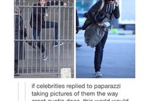 How to deal with paparazzi