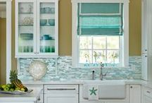 Coastal Living: Inspired by Water / Get inspired with beach style, water colors and relaxing design elements.