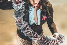 Zatanna Cosplay Inspiration / This is a board created to gather inspiration/reference images for cosplay I'd like to try and do in the future of Zatanna (I have cosplayed her but want to work on it more)
