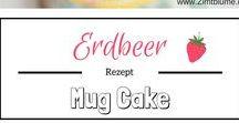 Tassenkuchen - Mug Cakes / Lust auf Kuchen aber so gar keine Lust auf langes Backen? Dann werdet ihr hier garantiert fündig! Die Tassenkuchen sind blitzschnell zubereitet und schmecken himmlisch!