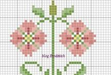 Charts for embroidery and knitting 1 / by Tatiana