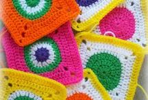 Granny square, circles, triangles, hexagons &  other shapes.  / by Tatiana