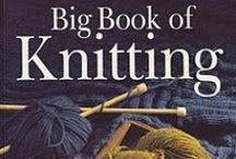 Books and magazines on knitting & crochet / . / by Tatiana