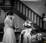 wedding in black / ślub na czarno / Black and white wedding photography by davidjan.pl fotografia czarno - biała