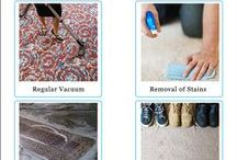 Carpet Cleaning Tips and Tricks / Handmade Carpets are 100% hand washable. You can wash it by hand at your home. You can also vacuum it. You should have to vacuum it every week and do professional cleaning in every year. You can also use baking soda method, shampoo method for cleaning a carpet.