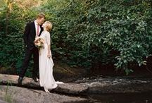 Creek Wedding {FiveSense Farm} / We think there's nothing quite as picturesque as a creek, and we love ours at FiveSense Farm! These photos are enough to make you fall in love with a creek too!