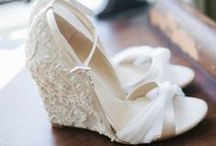 Wedding Shoes {FiveSense Farm} / Who doesn't love a pretty pair of shoes?