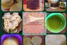 DIY Natural Beauty & Personal Care Recipes / Feeling Fit, Bit By Bit (www.feelingfit.info) frequently features DIY recipes for natural beauty, bath and personal care products. Most are easy to make using a few staple ingredients like oils, essential oils, salts, sugars, clays and other ingredients.  (Disclosure some of the recipes on this board are sponsored or include ingredients that were submitted to www.feelingfit.info for review).