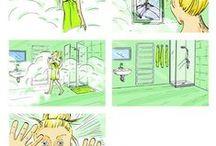storyboardy a vizuály