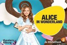 Alice in Wonderland / Theaters Tilburg en Bibliotheek Tilburg Centrum werken samen rondom Alice in Wonderland. Op woensdag 20 januari, voorafgaand aan de voorstelling, vindt de workshopmiddag Optische Illusies plaats bij de bibliotheek. Kaartjes zijn te koop bij de infobalie van de Bibliotheek Tilburg Centrum
