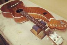 Ukuleles- Harp / My wishlist of Harp Ukuleles of any scale with or without bass strings