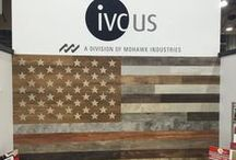 Made in the USA / We are celebrating all things red, white and blue with our Made in the USA Pinterest board, including IVC US's all new Luxury Vinyl Tile. Get inspired today!