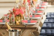 Tablescapes / Whether your style is rustic, contemporary, simple or formal, you will find ideas to create welcoming and eye-catching table settings for your next event.