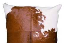 Our Range of Cowhide Cushions / www.CowhideRugsOnline.com.au #cowhide #cushions