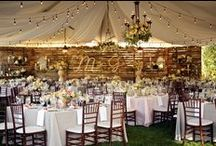 Outdoor Weddings / By the lake, in an open field, in the picturesque backyard of an estate or under the stars,we have inspiration for your dream outdoor wedding.