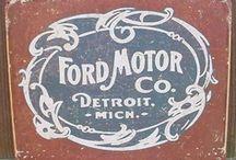 Ford Retro Ads