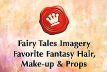 Favorite Fantasy Hair, Make-up & Props / Fairy Tales Imagery Inspirational Board featuring amazing fantasy and fairy tales makeup, props, crowns, hair, and whimsical creations. Such amazing talent by other artists!