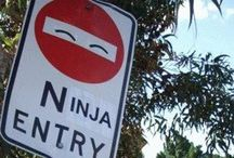 Funny Signs / Creative people responding to signs / by ZΩΣ ΠIGHTSHΔDΣ