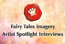 Artist Spotlight Interviews / Fairy Tales Imagery Artist Spotlight interviews feature amazing and talented artists, posting some of their recent work and asking questions about their profession. Very exciting and such an honor to connect with such an superb group of talents in the art industry.   Please visit my tumblr blog to see all the gifted artists I have had the pleasure interviewing! http://fairytalesimagery.tumblr.com/fairytalesimageryartistspotlight