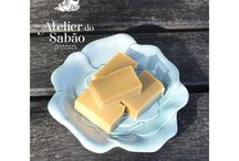 Atelier do Sabão / The Atelier do Sabão is a company dedicated to the production of natural handmade soaps. The soaps are obtained from vegetable oils and fats. All the soaps are produced, in small batches, using the cold-process soapmaking method, retaining all the glycerine produced during the process that makes our soap a luxury product for the cleaning and skin care.  #soap #handmade #savon #jabones