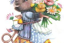 Illustrazioni di Marjolein Bastin
