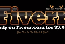 Our Fiverr Gigs / We give people the opportunity to grab some cheap gigs from us on Fiverr. Check em out!