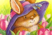 Country Companions / Illustrazioni per bambini