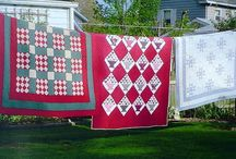 Quilts & Granny Memories / Growing up my Granny was always quilting and I've been blessed with several of these beautiful treasures! I loved my Granny so much and this is a collection of Granny Memories! They give me my dose of warm, fuzzy granny memories!  / by Sandra Ferguson Raymond