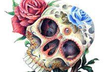 Sugar skulls, spice & everything nice