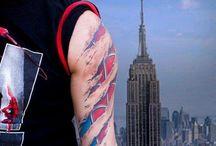 Tattoos / by Deija Inloes