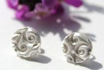 Silver nature jewellery / Handmade silver nature jewellery inspired by nature and wildlife and handmade by me in my studio in York, England. I make silver pendants, silver bracelets, silver earrings and cufflinks all inspired by nature.