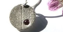 Metal clay jewelry / Metal clay jewellery created by little silver hedgehog