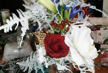 mes créas florales.....