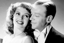 Fred & Rita / Fred Astaire and Rita Hayworth were the epitome of elegance, beauty, grace, talent and charm rolled into one.