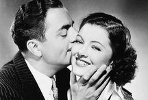 William & Myrna / William Powell and Myrna Loy starred in thirteen fabulous films together and were firm friends in real life. Together they made hilarious screen magic.