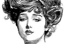 The Gibson Girl Look / The Gibson Girl, drawn by Charles Dana Gibson, was everything the turn-of-the-century lady aspired to be.