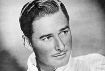 Errol Flynn / My favourite actor of all time- the always charming and constant scoundrel Errol Flynn.