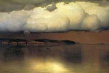 Paintings   Живопись / Morgan Weistling   Nikolai Yaroshenko   Nikolay Dubovskoy / by Anton Danilov
