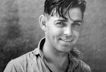 Clark Gable / The King of Hollywood and original man's man.