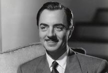William Powell / William Powell was a comedic genius and one of my favourite actors.